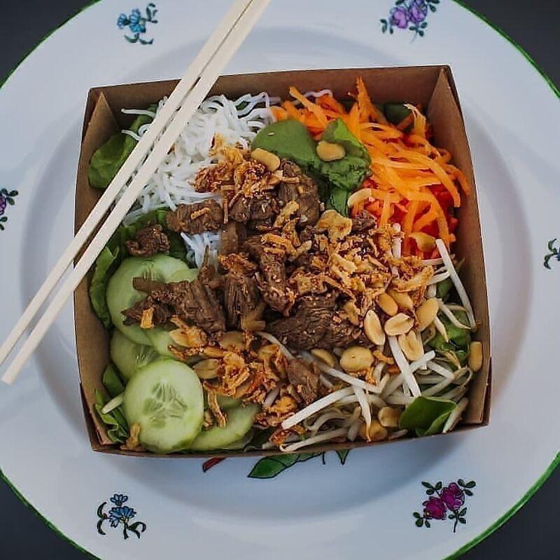 Aperçu d'un plat thaïlandais